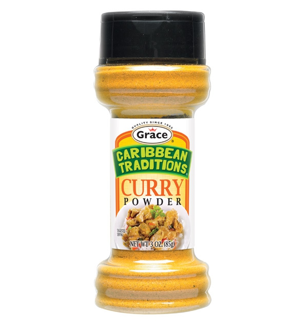 Grace Caribbean Traditions: Curry Seasoning