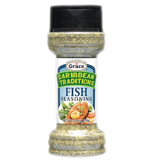 Grace Caribbean Traditions: Fish Seasoning