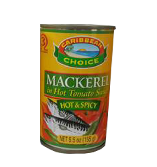 Mackerel in Hot Tomato Sauce 5oz