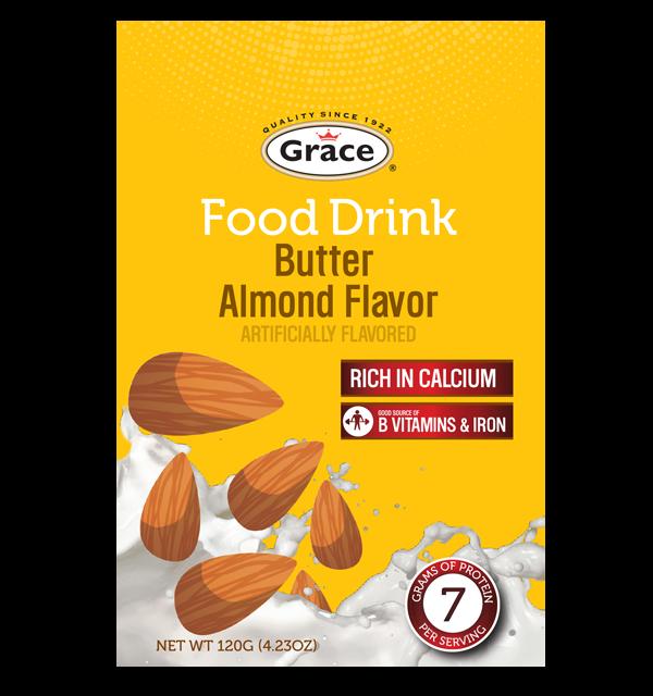 Grace Food Drink - Butter Almond