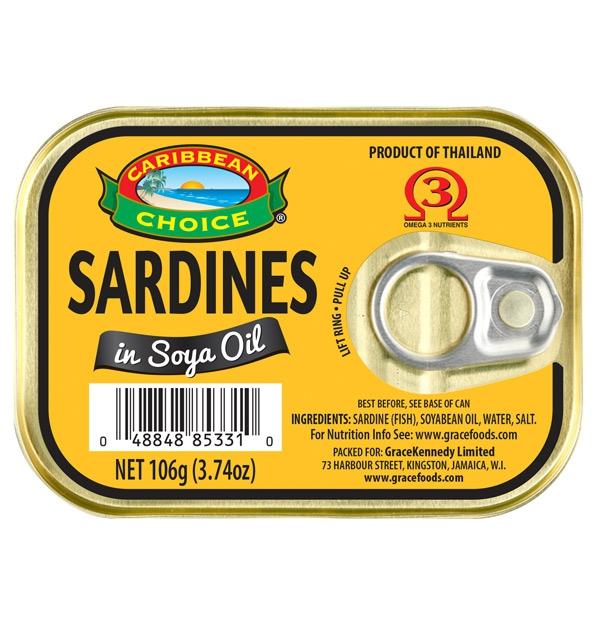 Sardines in Soya Oil