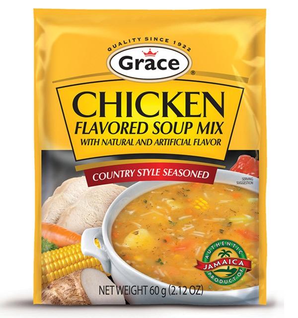 Grace Chicken Flavoured Soup Mix