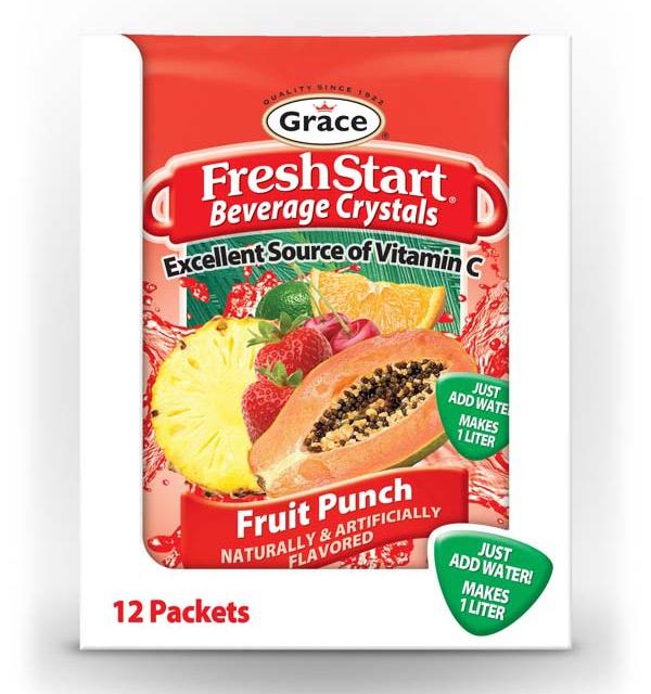 Grace Fresh Start - Fruit Punch