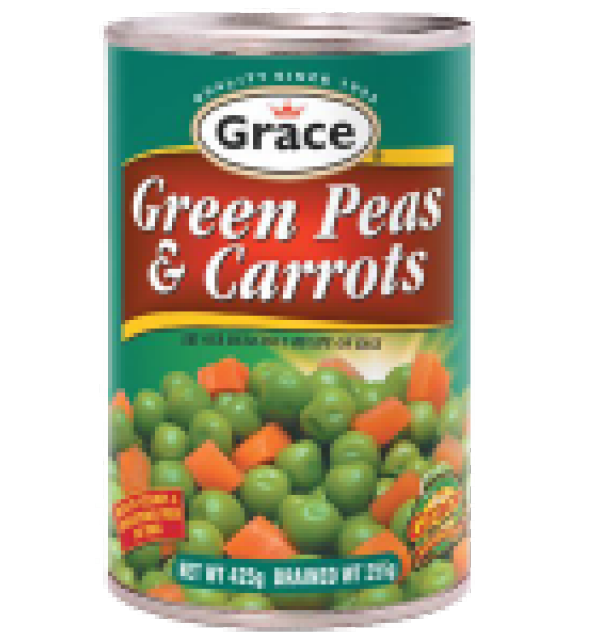 Grace Green Peas And Carrot