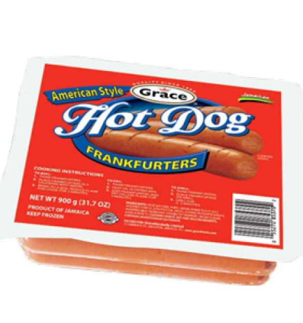 Grace American Style Hot Dog Frankfurters