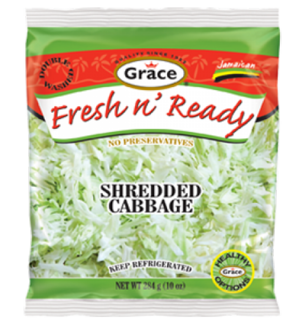 Grace Fresh N Ready Shredded Cabbage