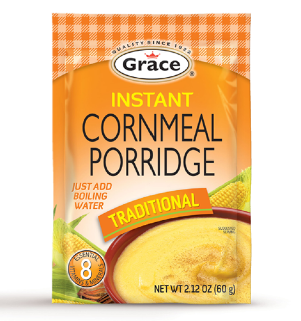 Grace Instant Cornmeal Porridge