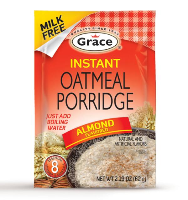 Grace Instant Oatmeal Porridge