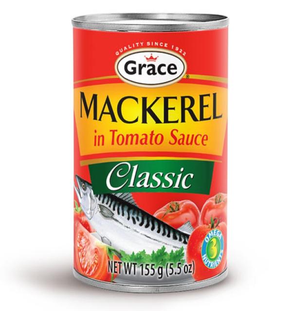 Grace Mackerel in Tomato Sauce - Classic