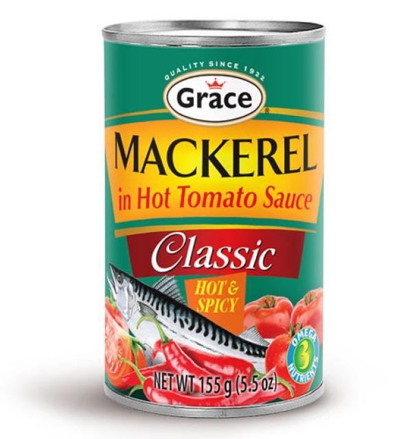 Grace Mackerel In Hot Tomato Sauce