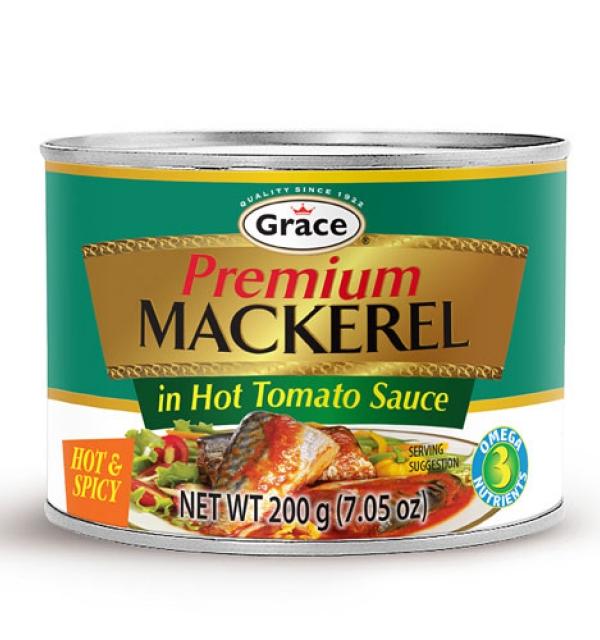 Grace Premium Mackerel in Hot Tomato Sauce