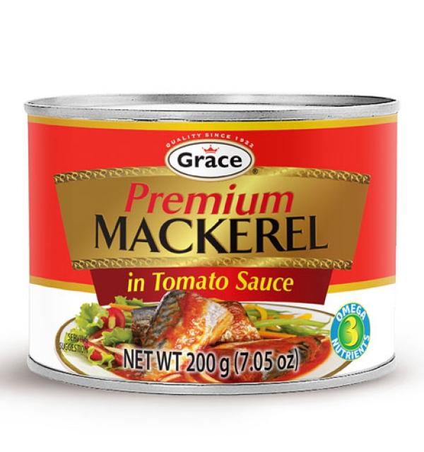 Grace Premium Mackerel in Tomato Sauce