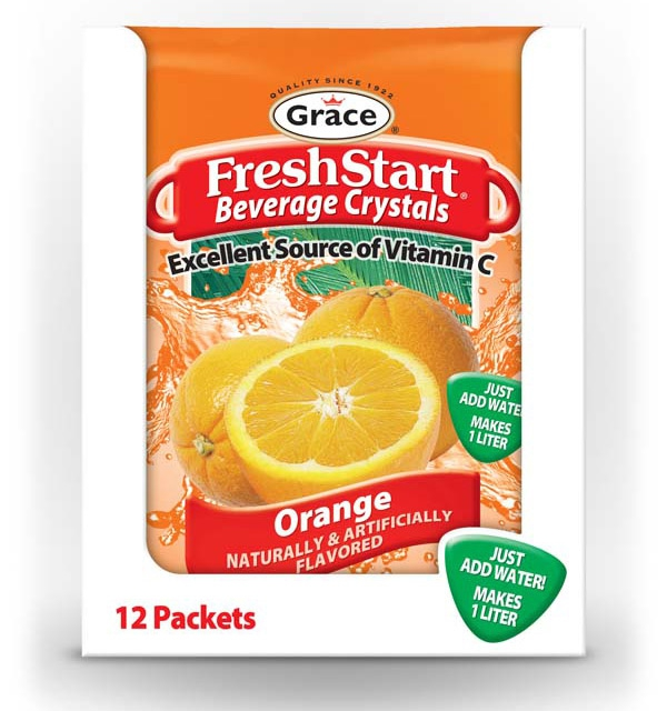 Grace Fresh Start - Orange