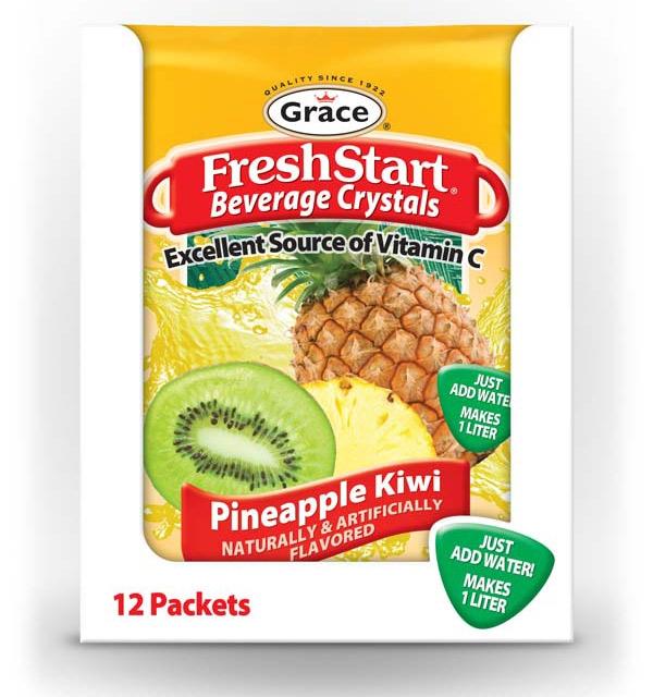 Grace Fresh Start - Pineapple Kiwi