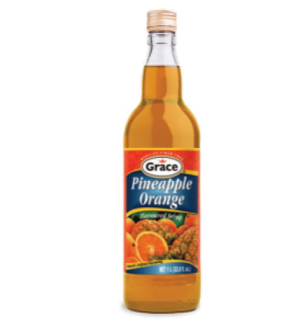 Grace Pineapple Orange Syrup