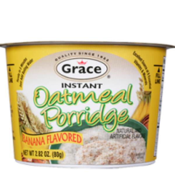Grace Banana Oatmeal Porridge