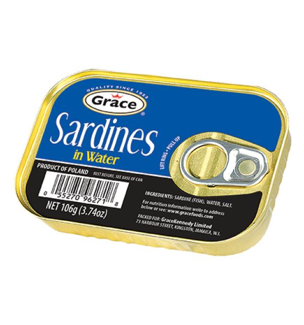 Grace Sardines in Water