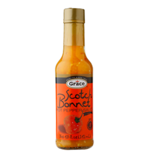 Grace Caribbean Curry Scotch Bonnet Hot Pepper Sauce
