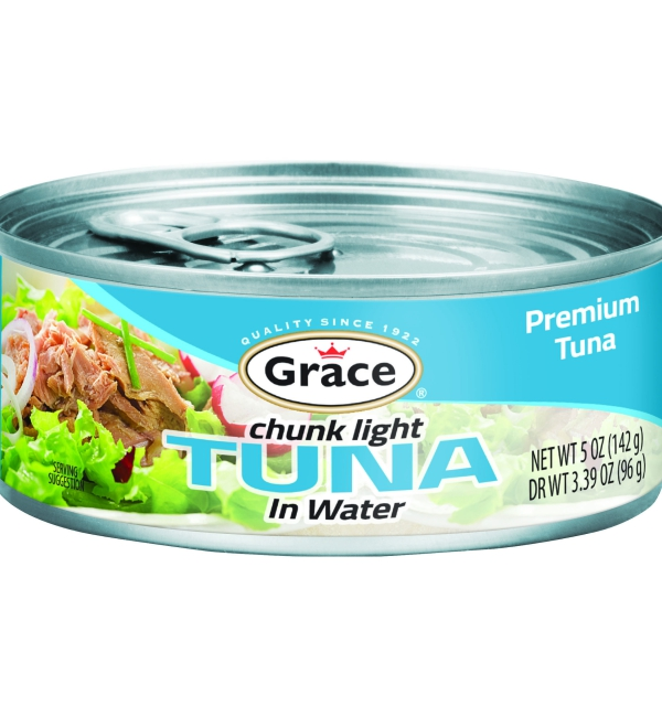 Grace Chunk Light Tuna in Water 142g