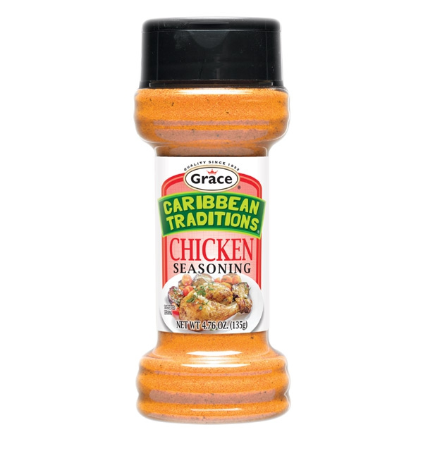 Grace Caribbean Traditions: Chicken Seasoning