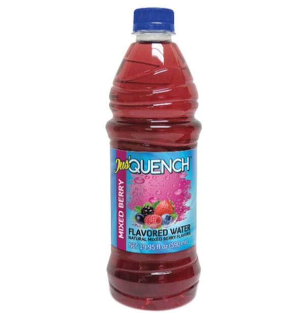 Jus' Quench Mixed Berry Flavour