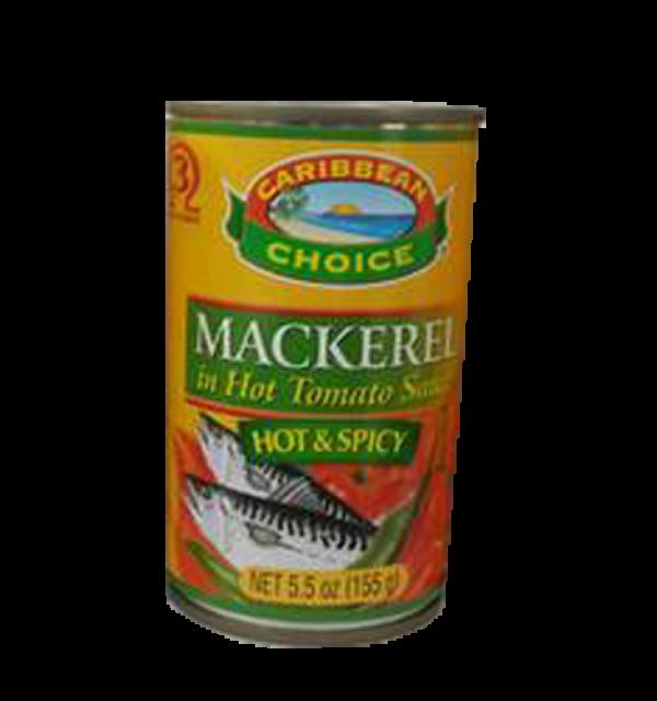Mackerel in Hot Tomato Sauce 5oz