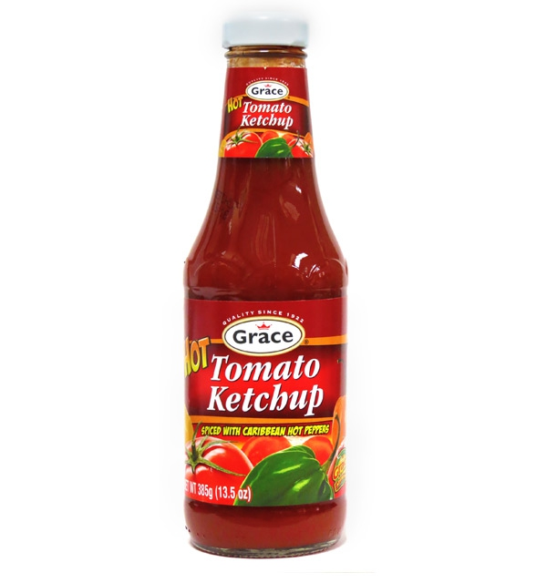 Grace Hot Tomato Ketchup