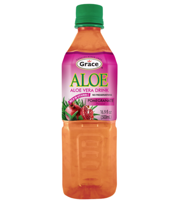 Grace Aloe Vera Drink Pomegranate 500ml