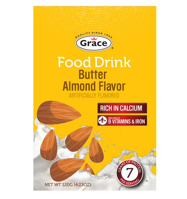 Grace Food Drink - Butter Almond