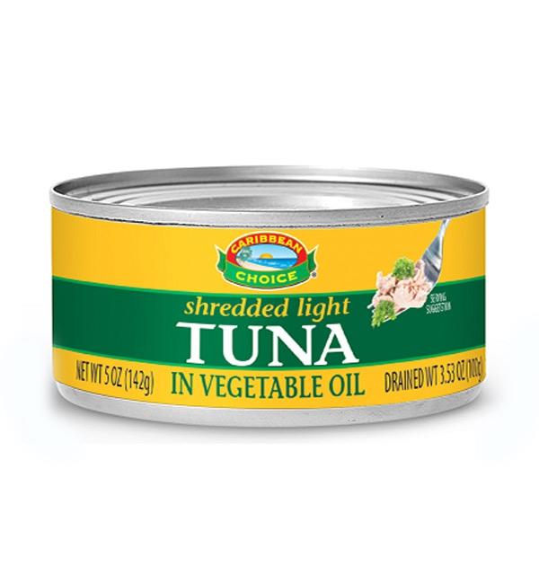 Tuna in Vegetable Oil