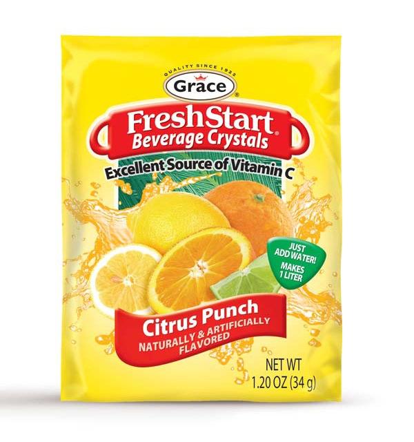 Grace Fresh Start - Citrus Punch