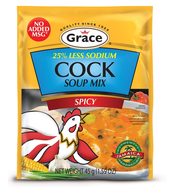 Grace Cock Soup - Less Sodium, No Added MSG