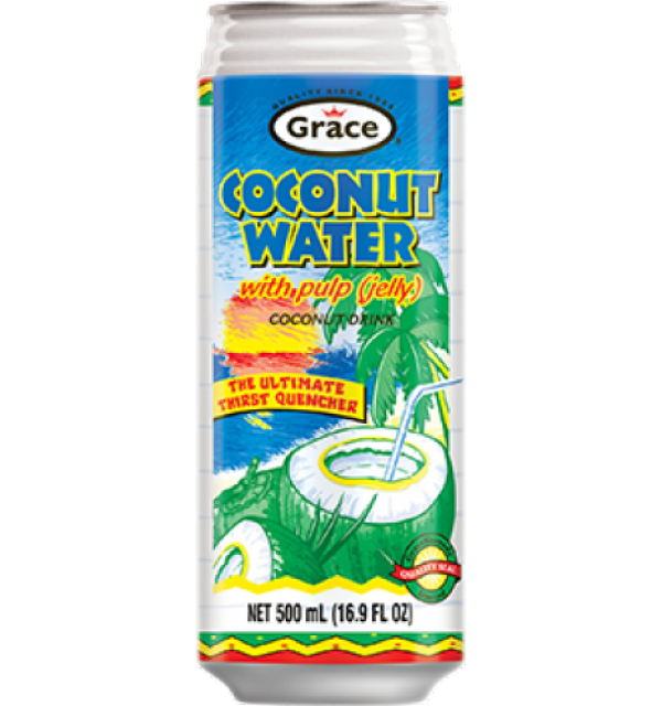 Grace Coconut Water 500ml with Pulp