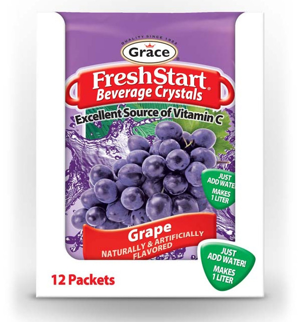 Grace Fresh Start - Grape