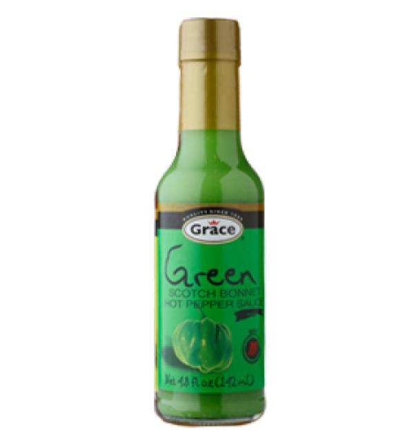 Grace Green Scotch Bonnet Pepper Sauce