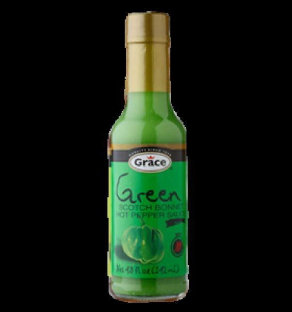 Grace Green Scotch Bonnet Pepper Sauce