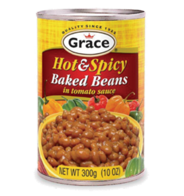 Grace Hot And Spicy Baked Beans