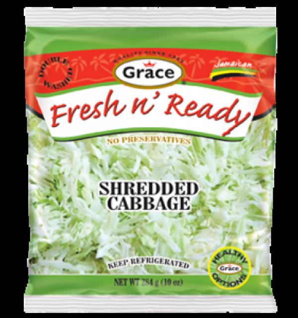 Grace Fresh N Ready Shredded Cabbage