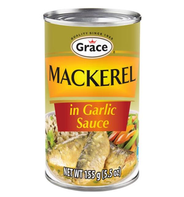 Grace Mackerel in Garlic Sauce