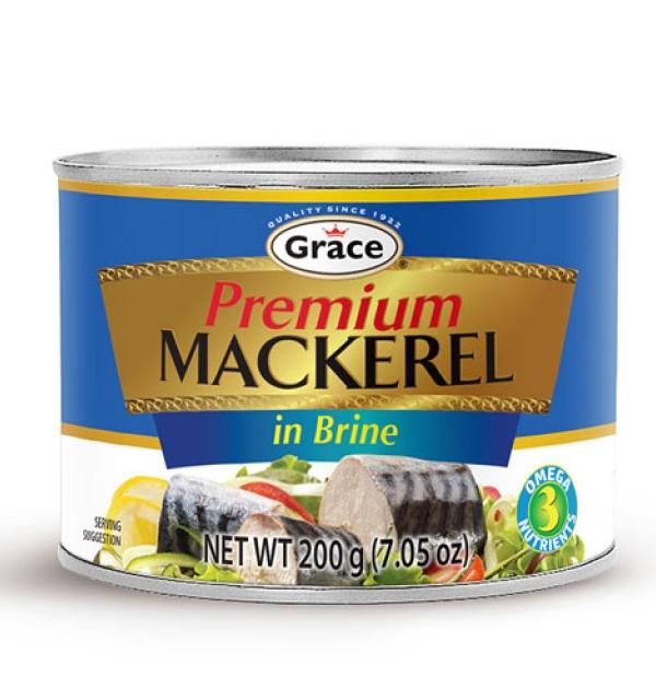 Grace Mackerel In Brine