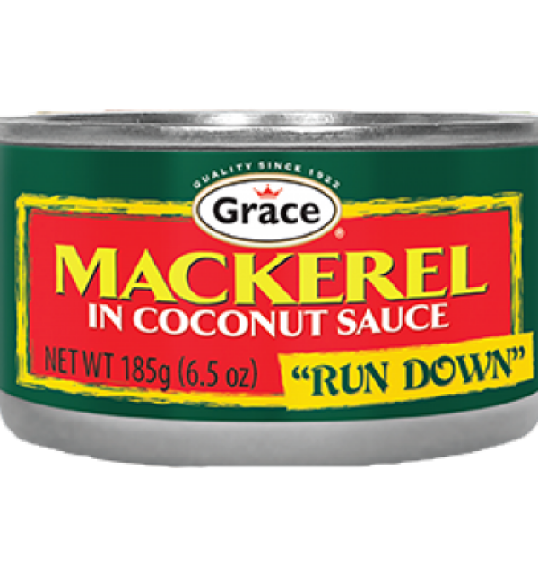 Grace Mackerel in Coconut Sauce