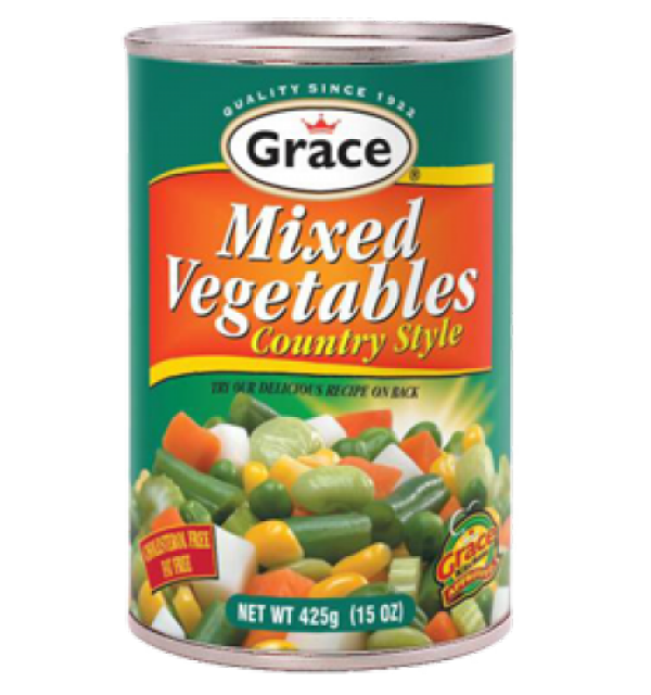 Grace Mixed Vegetables Country Style