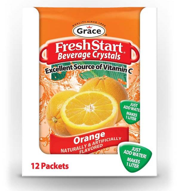 Grace Fresh Start - Orange