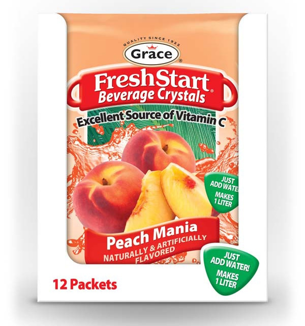 Grace FreshStart Peach Mania