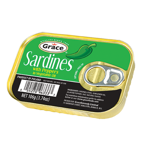 Grace Sardines in Green Peppers