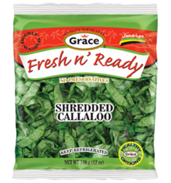 Grace Fresh N Ready Shredded Callaloo