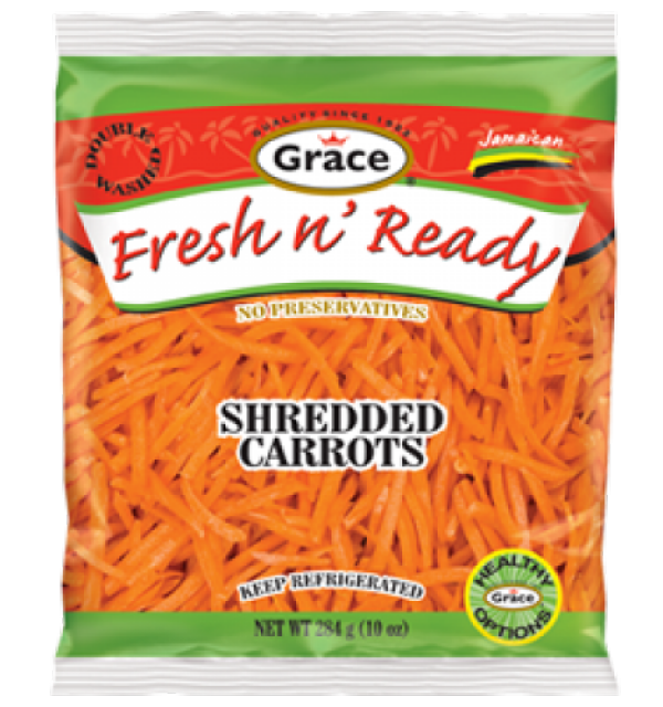 Grace Fresh N Ready Shredded Carrot