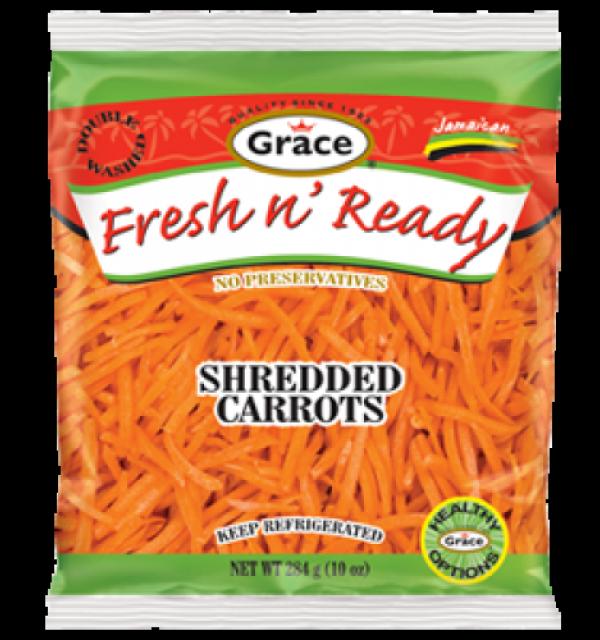Grace Fresh N Ready Shredded Carrot