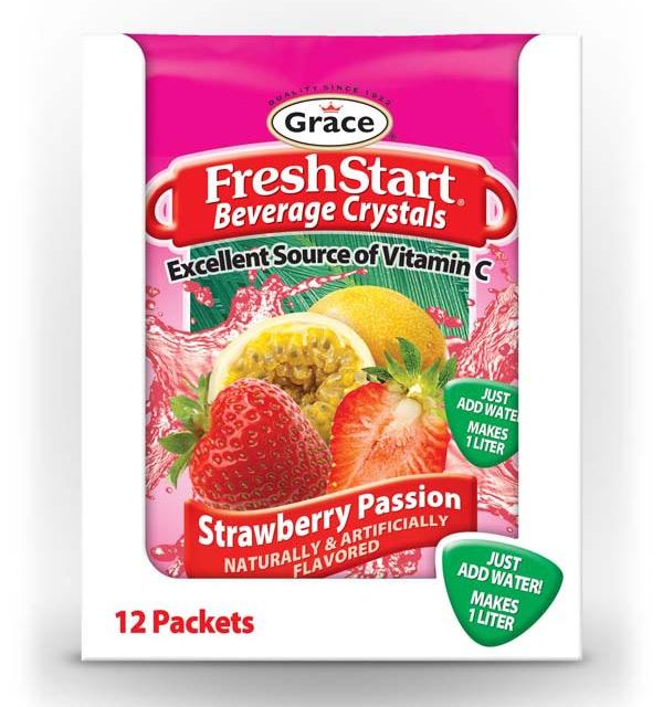 Grace Fresh Start - Strawberry Passion