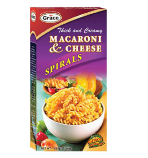 Grace Thick And Creamy Macaroni Cheese Spirals
